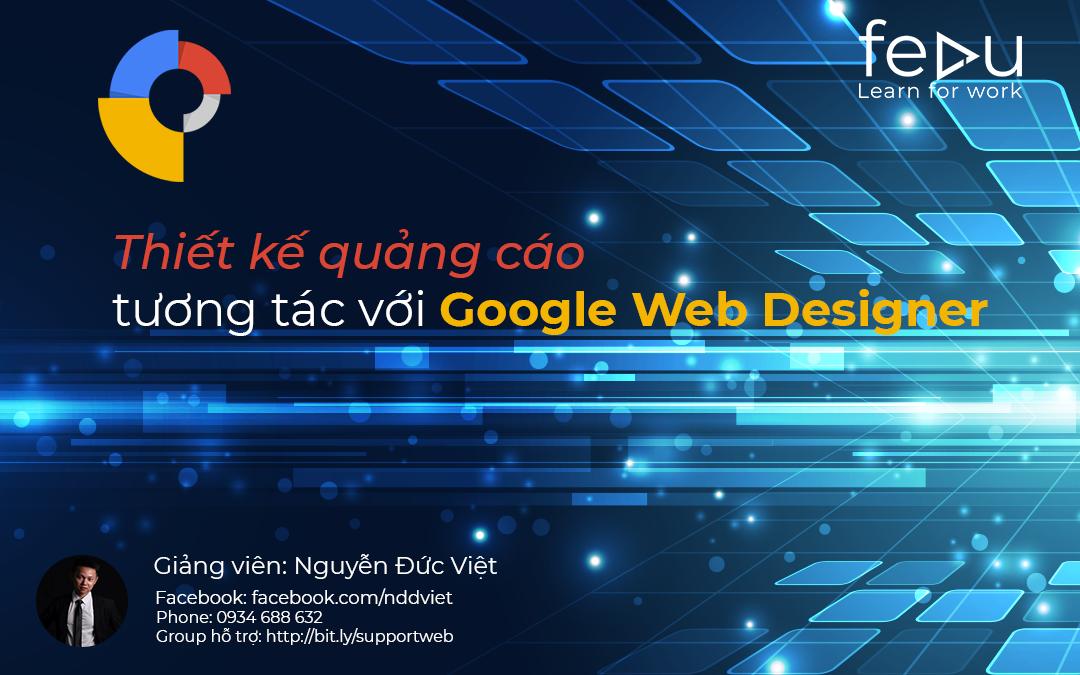 36 - Thiết kế quảng cáo tương tác với Google Web Designer