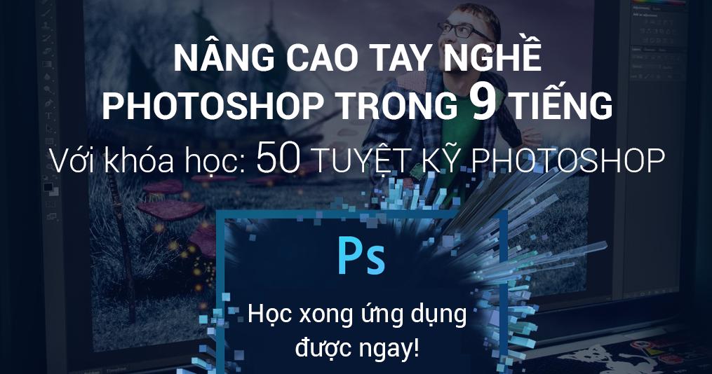50 Bài hướng dẫn Photoshop