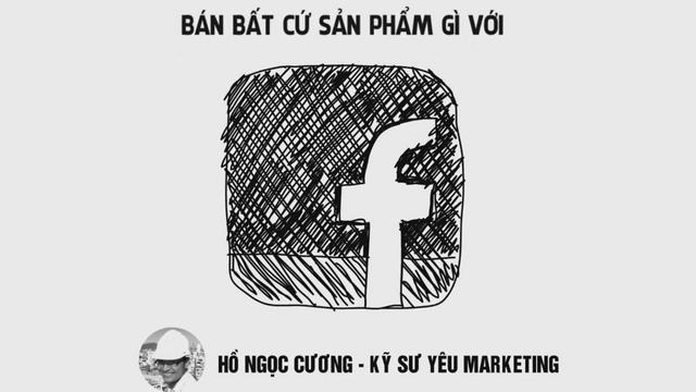 Bán bất cứ sản phẩm gì với Facebook