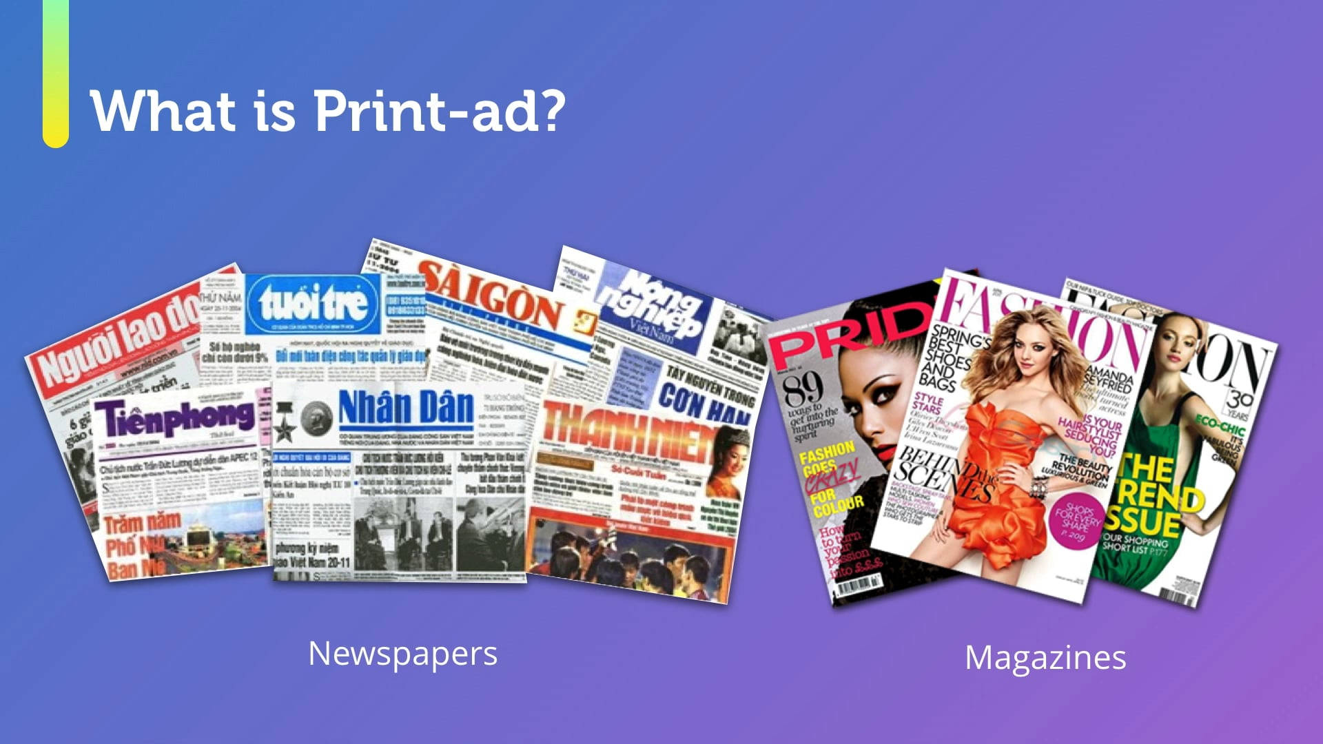 Bring Ideas to Life: Print-ad Production