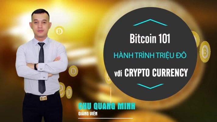 Crypto 101 - Tiềm năng & Thách thức của lĩnh vực Crypto Currency (Tiền mã hóa)