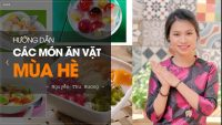 Hướng dẫn cách làm các món ăn vặt mùa hè