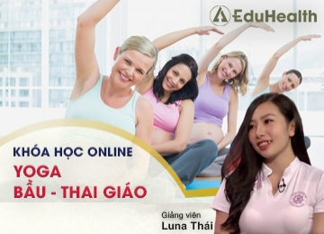 Khóa học online yoga bầu - thai giáo