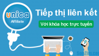 Kiếm tiền online với Unica Affiliate