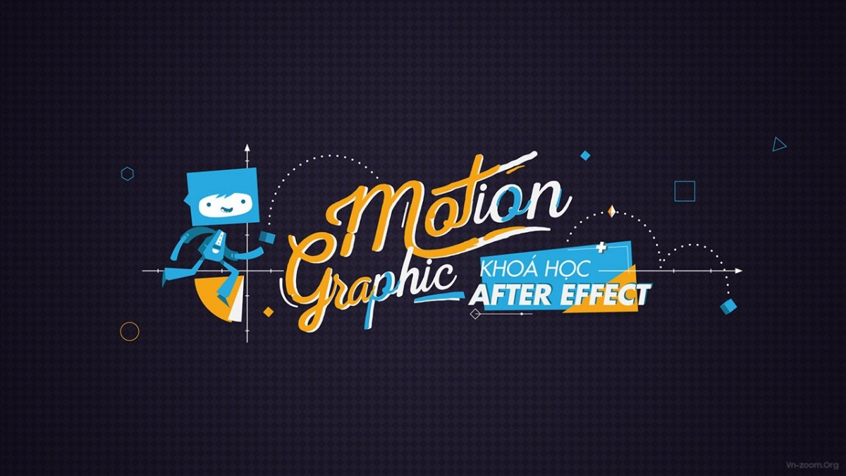 Monition Graphic với After Effects
