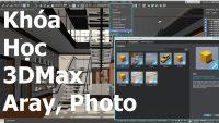 Trọn bộ diễn họa kiến trúc từ A đến Z với 3DSMAX,Aray và Photoshop