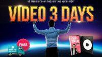 Video 3 ngày - Học làm video quảng cáo bán hàng trong 3 ngày